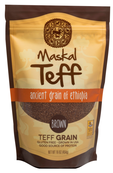 Maskal Teff Brown Teff Grain