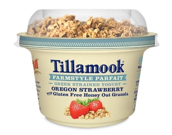 Tillamook Greek Yogurt with Granola