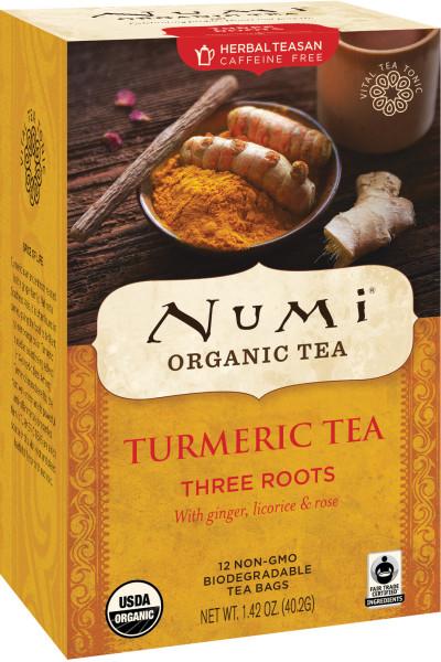 Numi Turmeric Tea - Three Roots