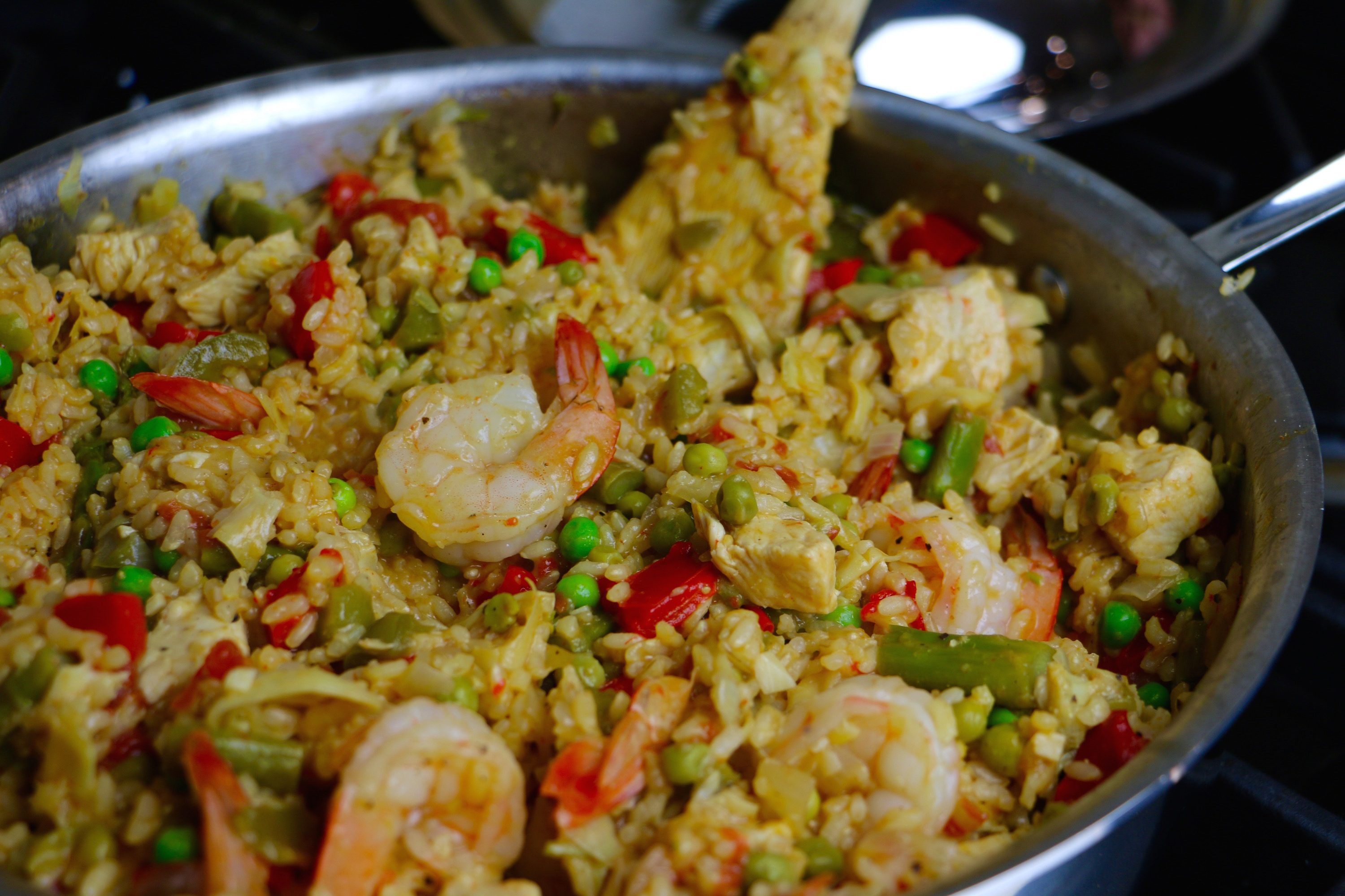 Healthy Mixed Paella Recipe