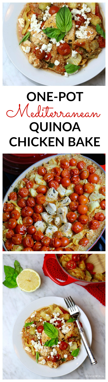 One-Pot Mediterranean Chicken Recipe