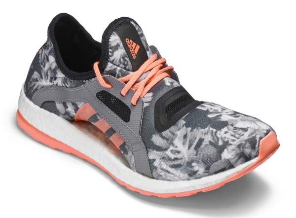 Adidas Pure Boost X Floral and Peach