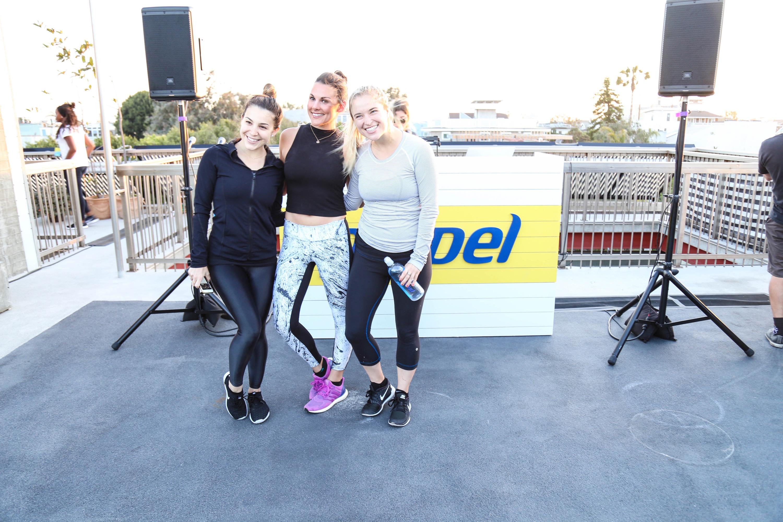 Jordan Younger, Danielle Cuccio, Whitney English