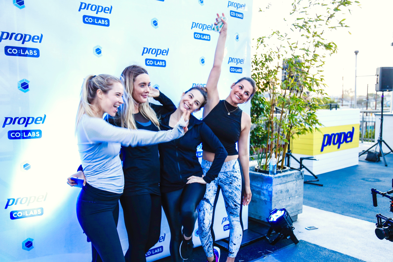 Jordan Younger, Lauryn Evarts, Danielle Cuccio, Whitney English