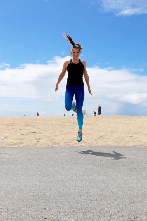 Whitney English Plank + Plyo Workout