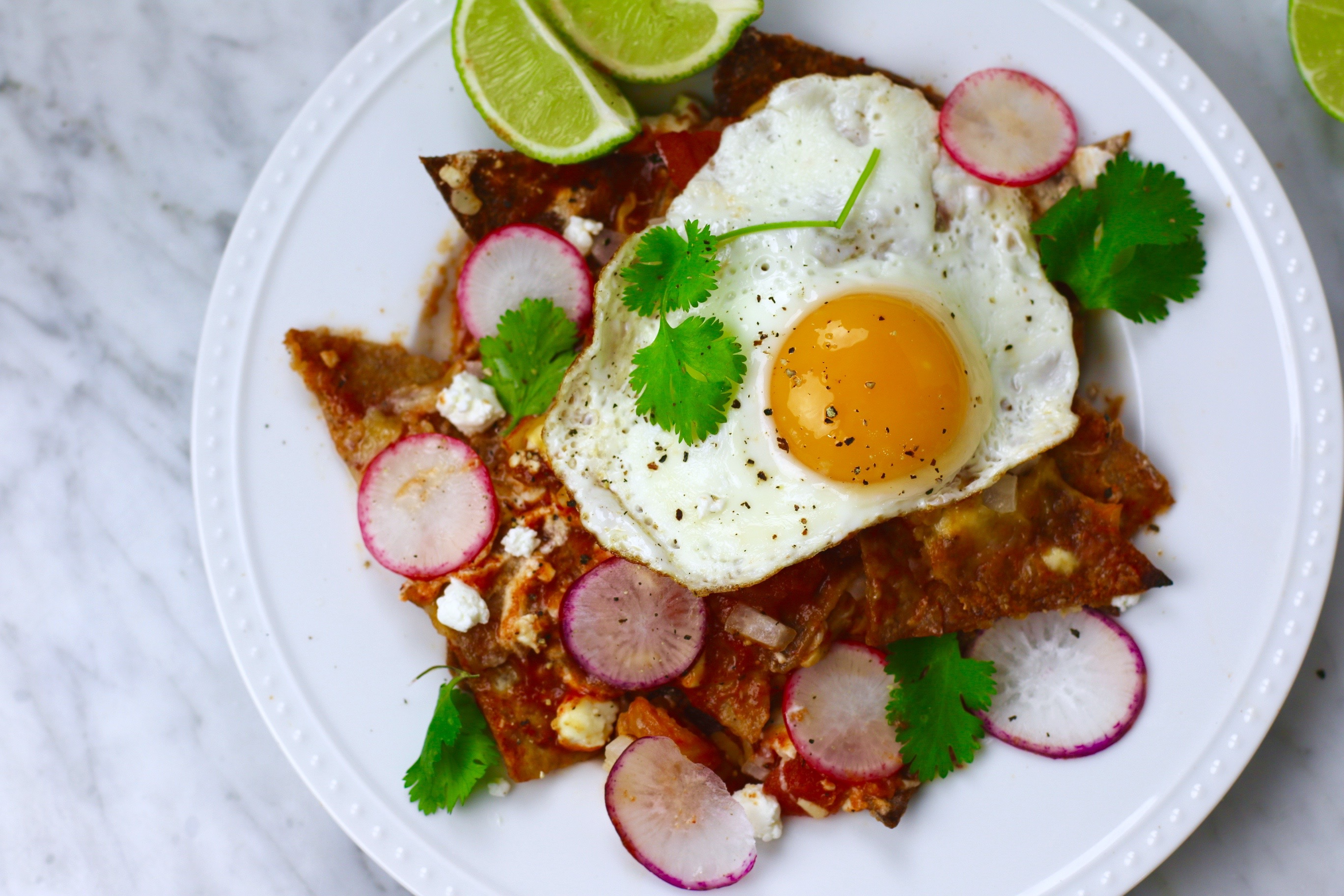 Healthy Chilaquiles