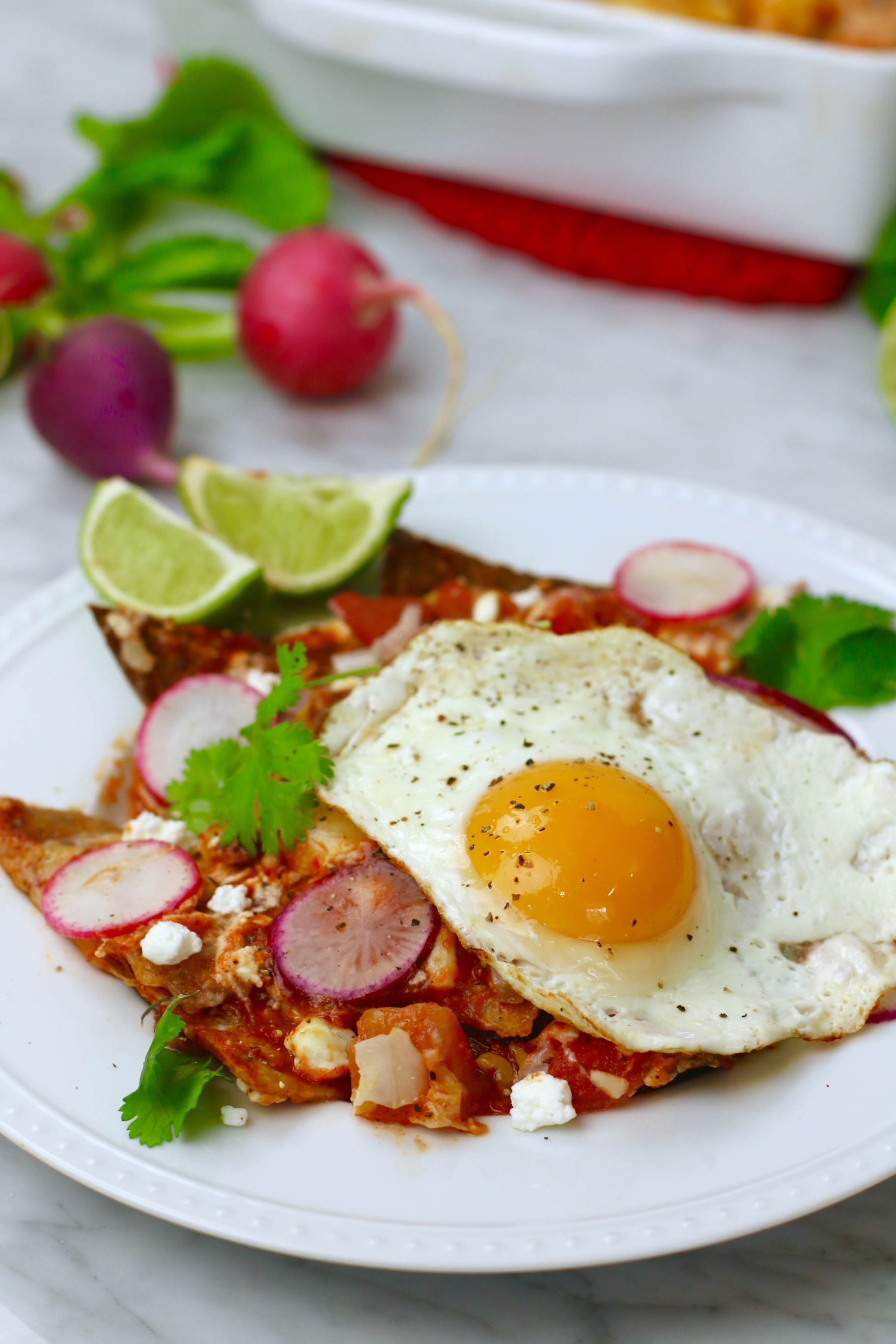 Simple Healthy Chilaquiles
