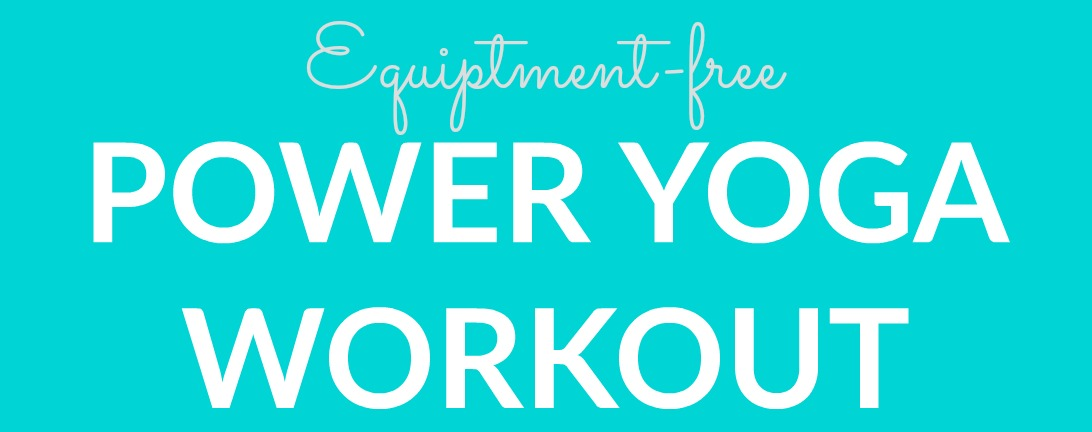 Power Yoga Workout Graphic