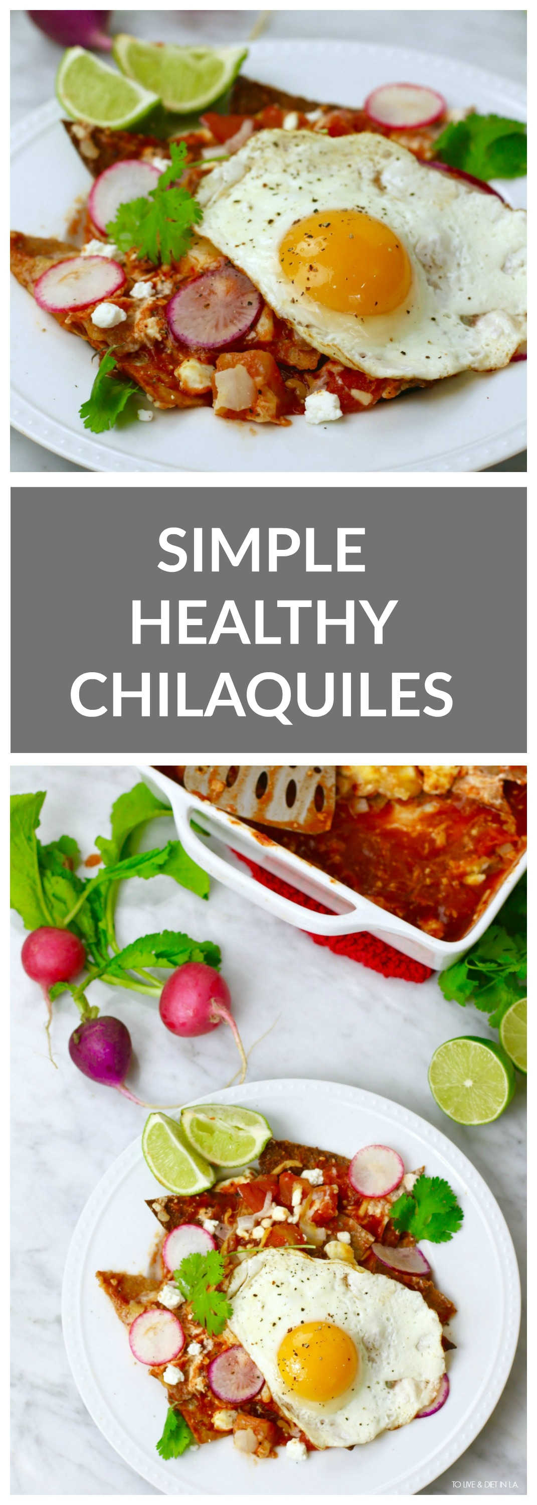 Simple Healthy Chilaquiles Recipe