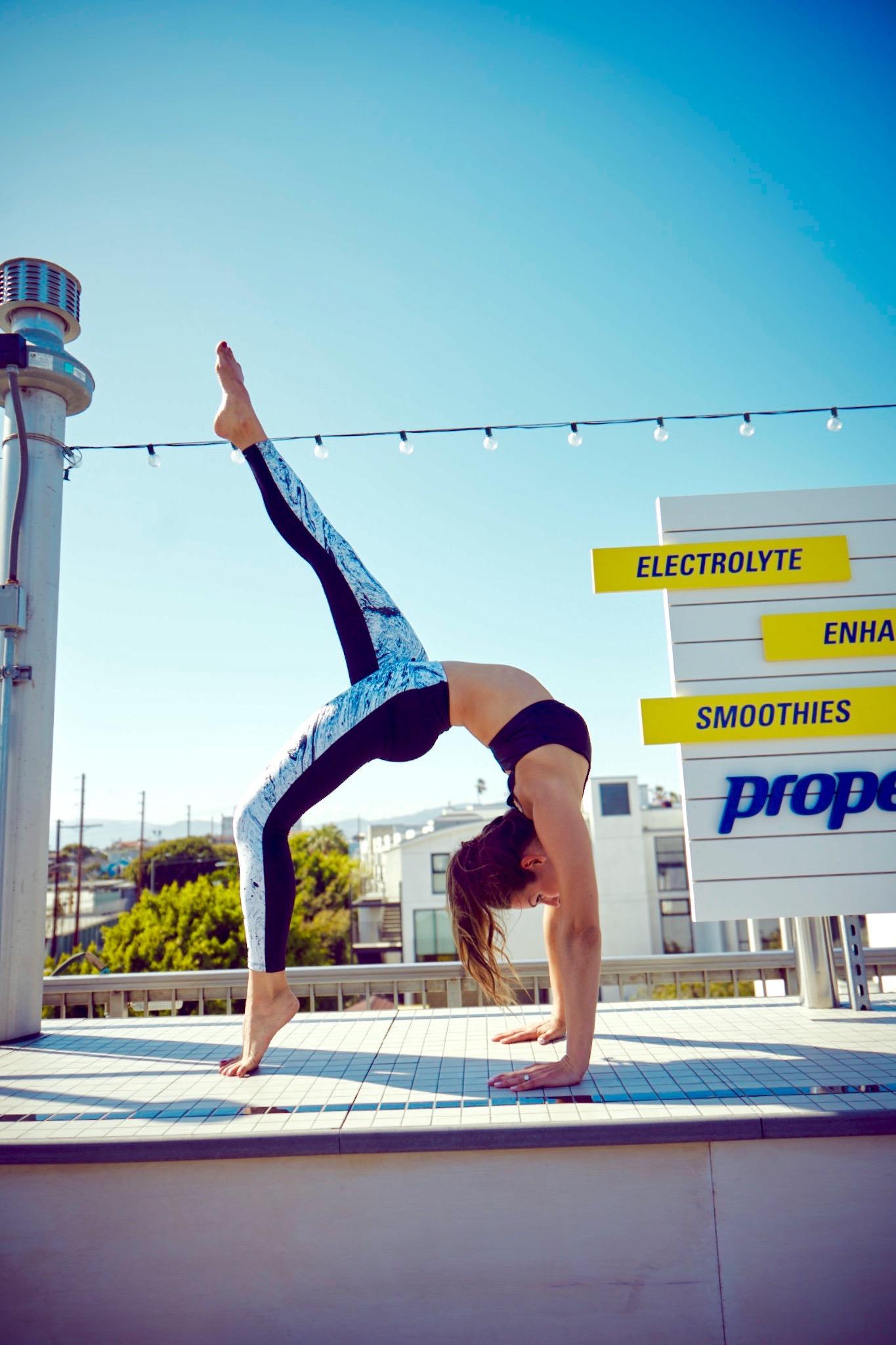 Whitney English - Fitness Blogger - Yoga Pose