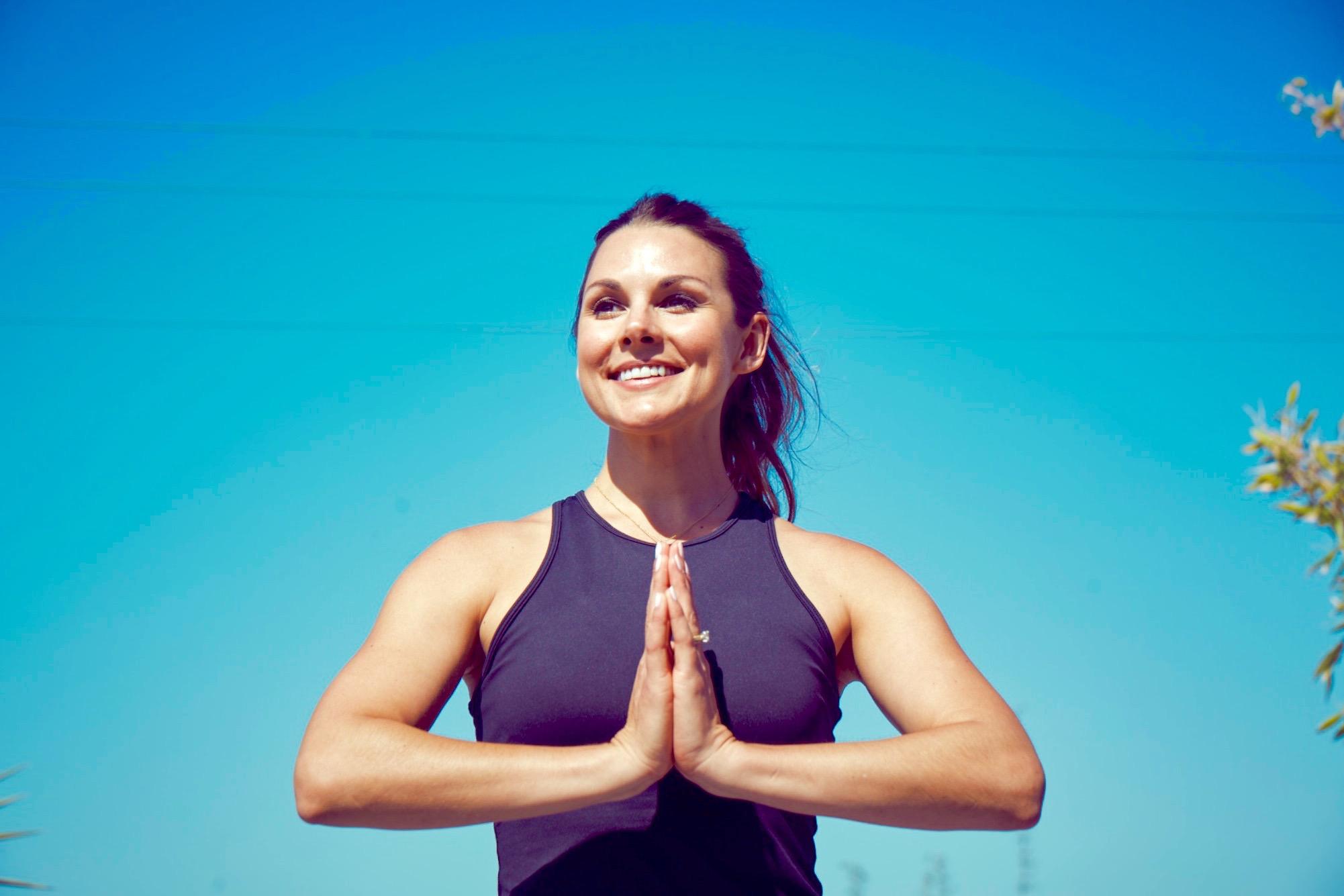Whitney English Yoga Pose