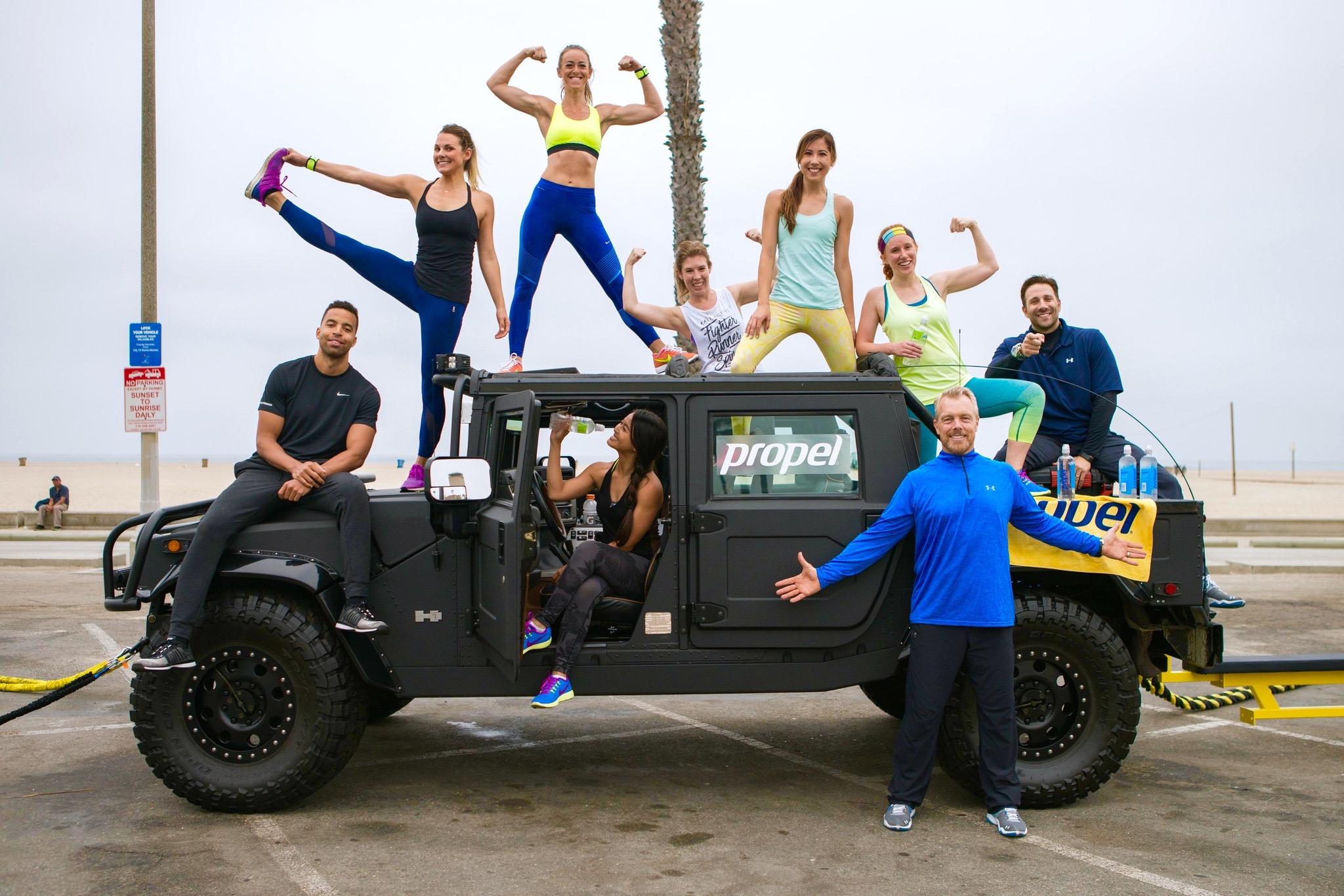 Propel Fitness Bloggers Gunnar Peterson Workout