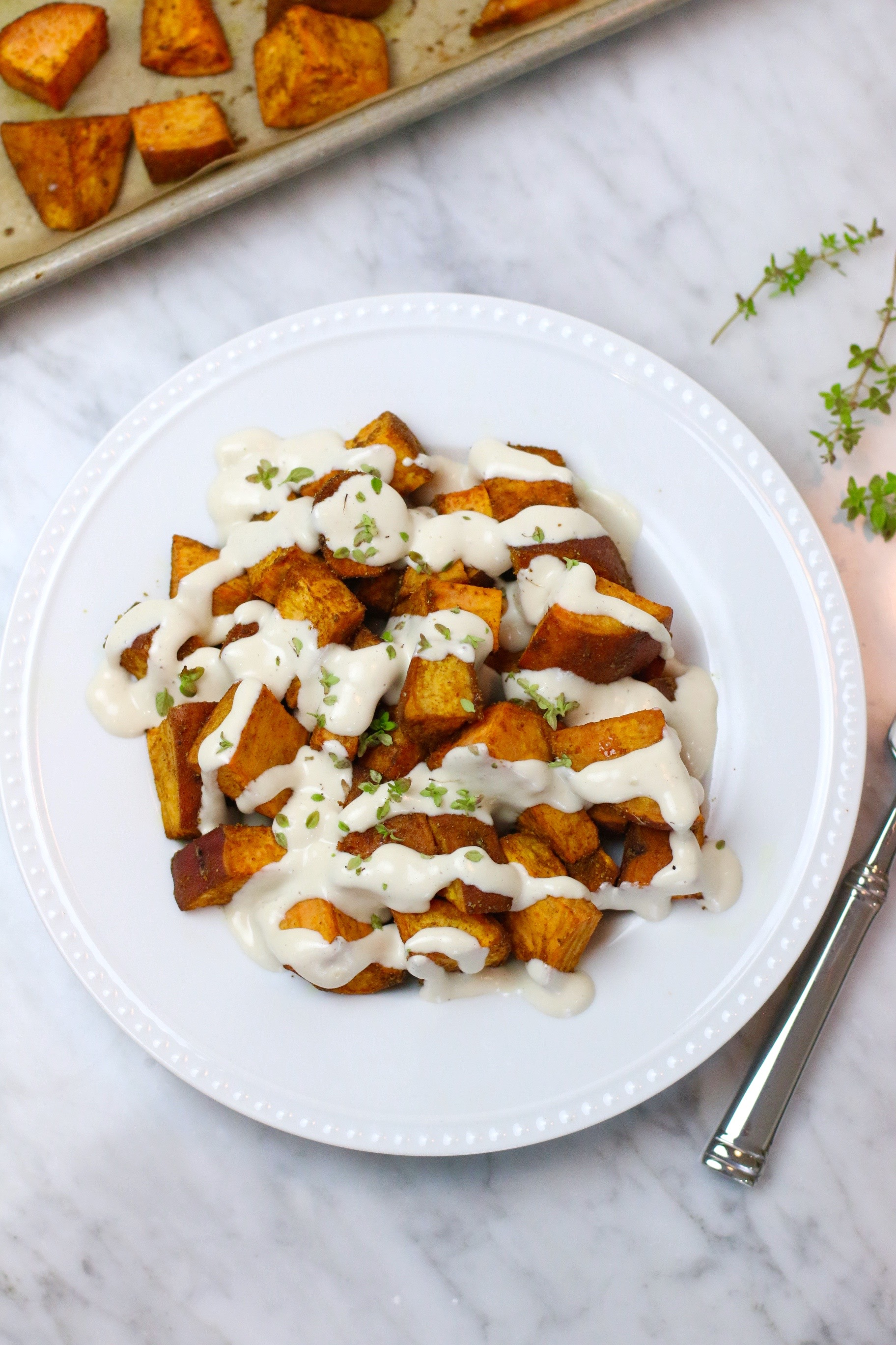 Indian Spiced Sweet Potatoes