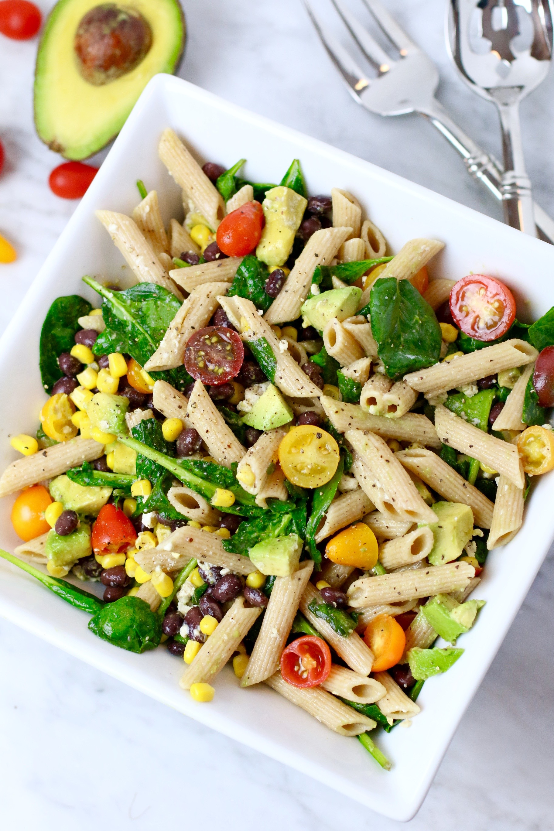 Summer Corn Pasta Salad