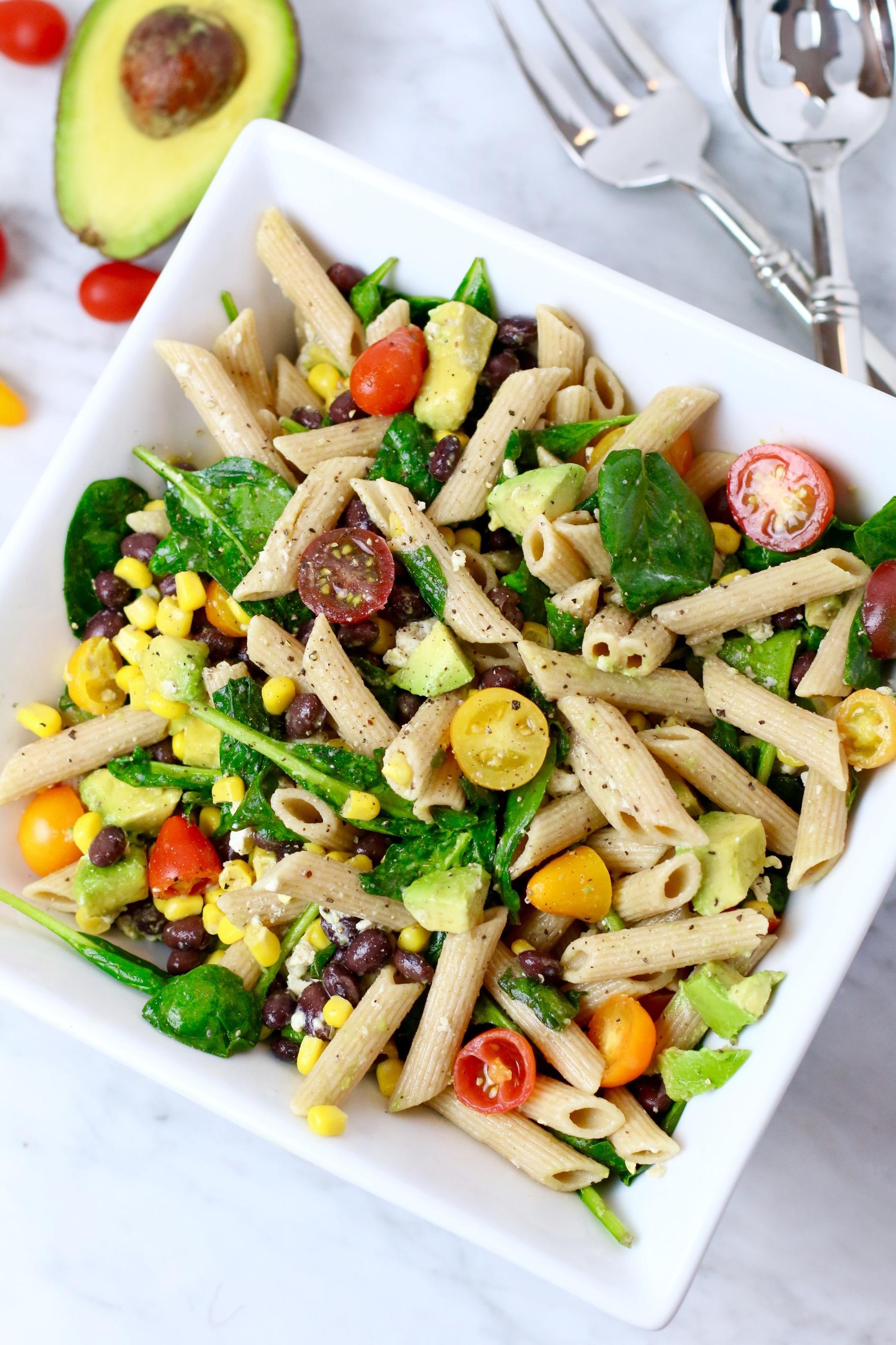 Summer Corn Pasta Salad