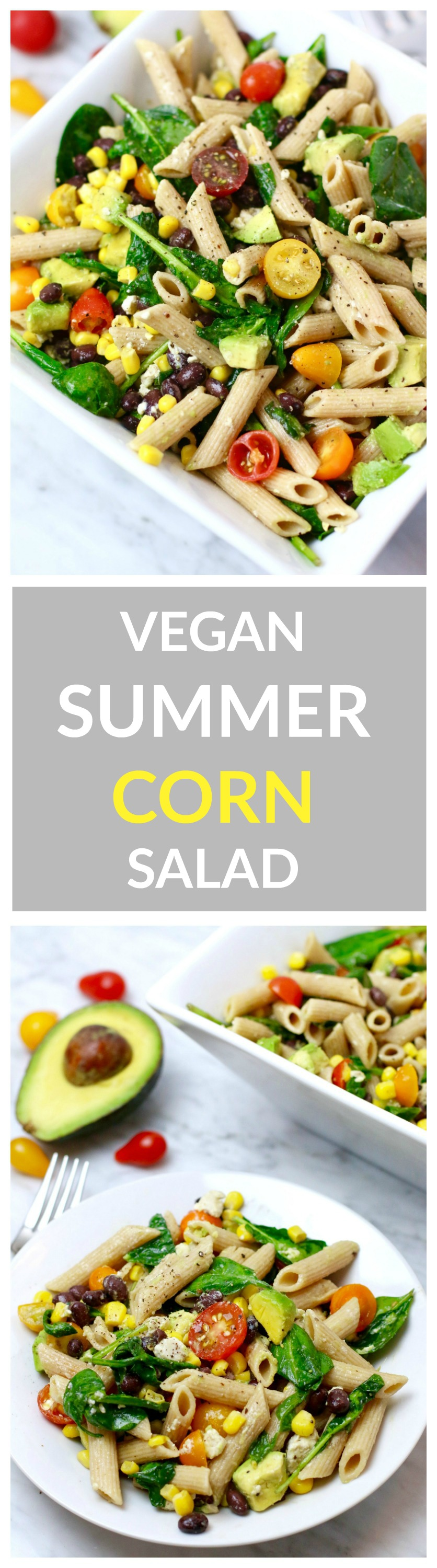 Pasta Summer Corn Salad