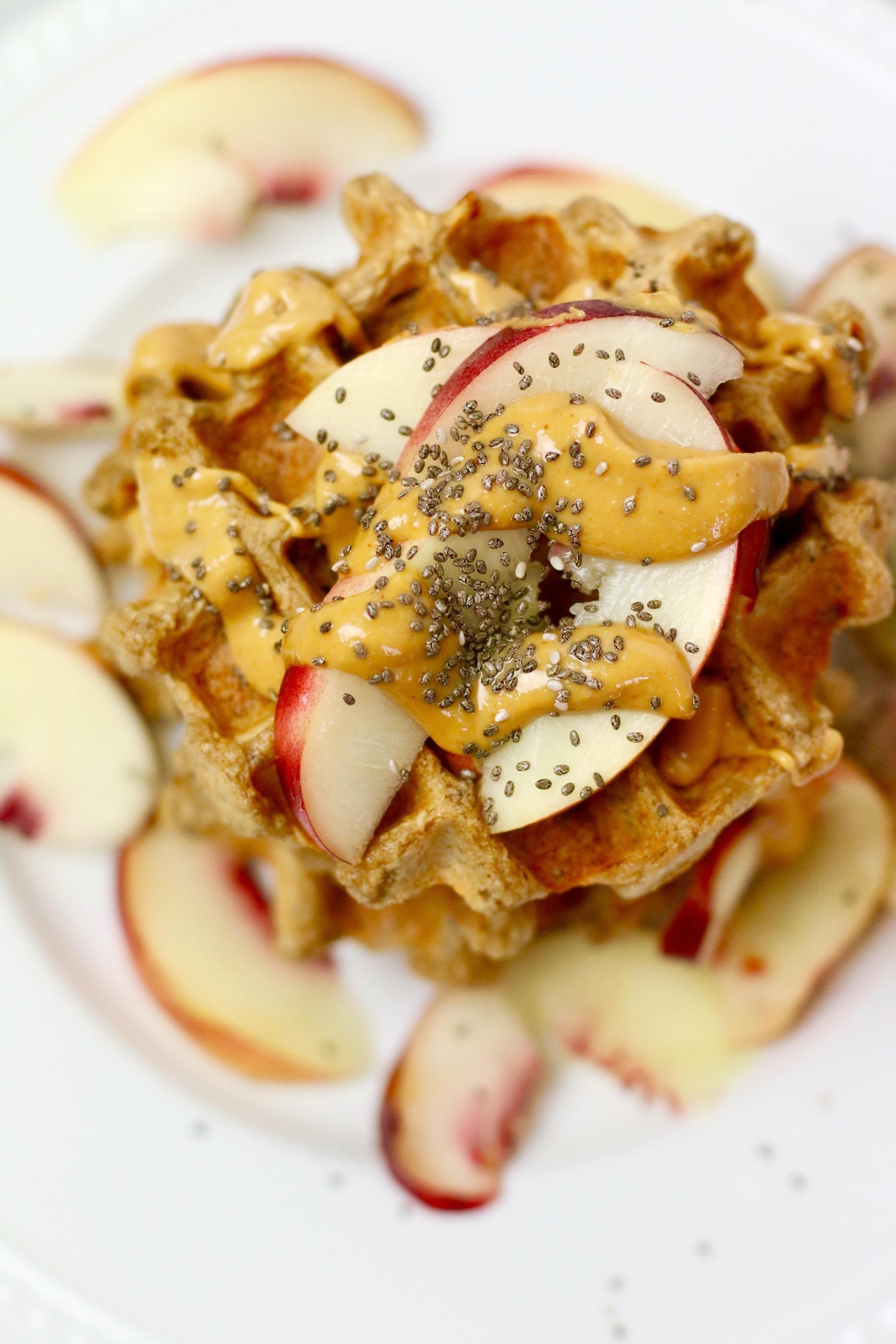 vegan-belgium-waffles