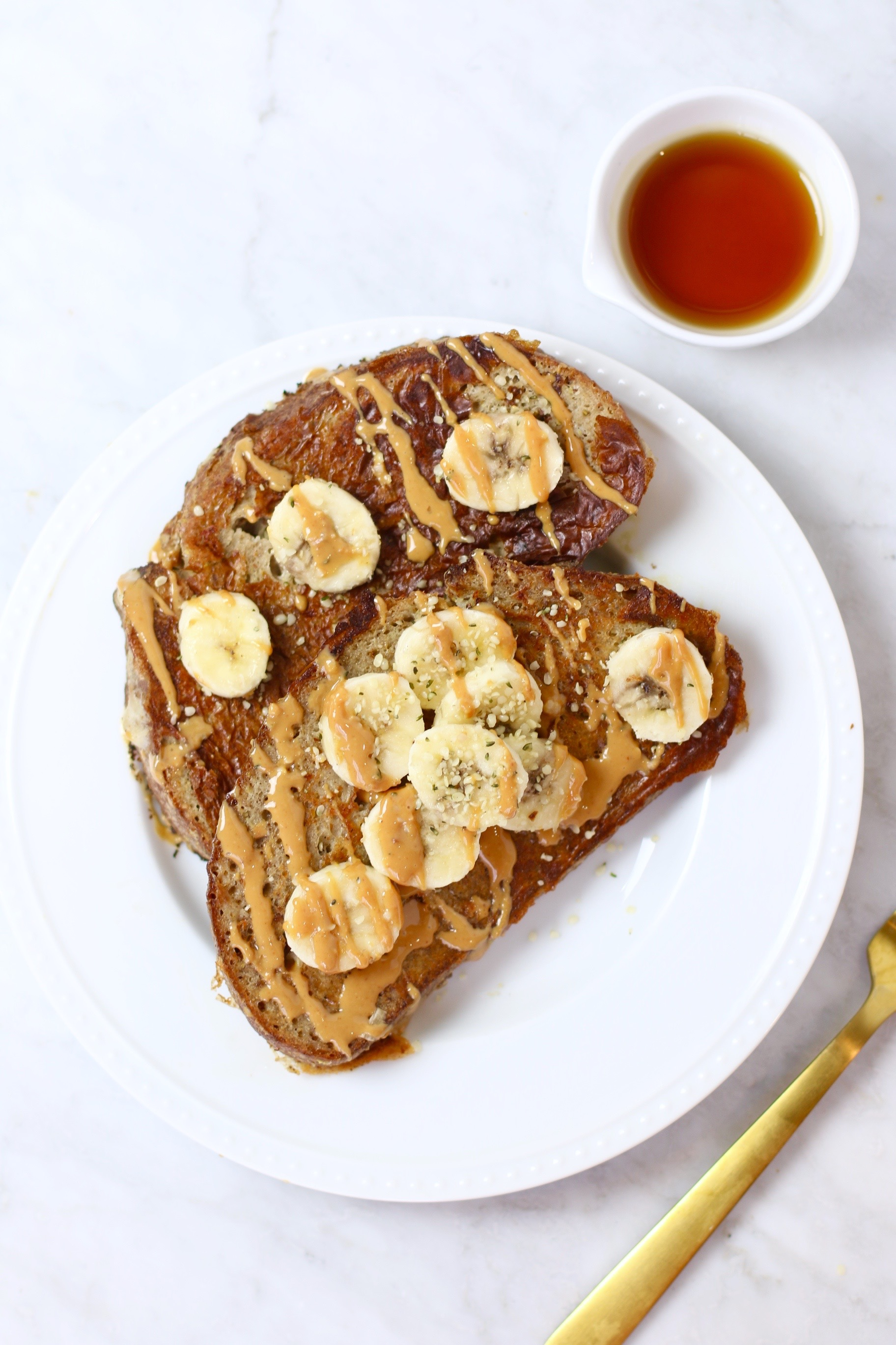 Healthy Vegan French Toast