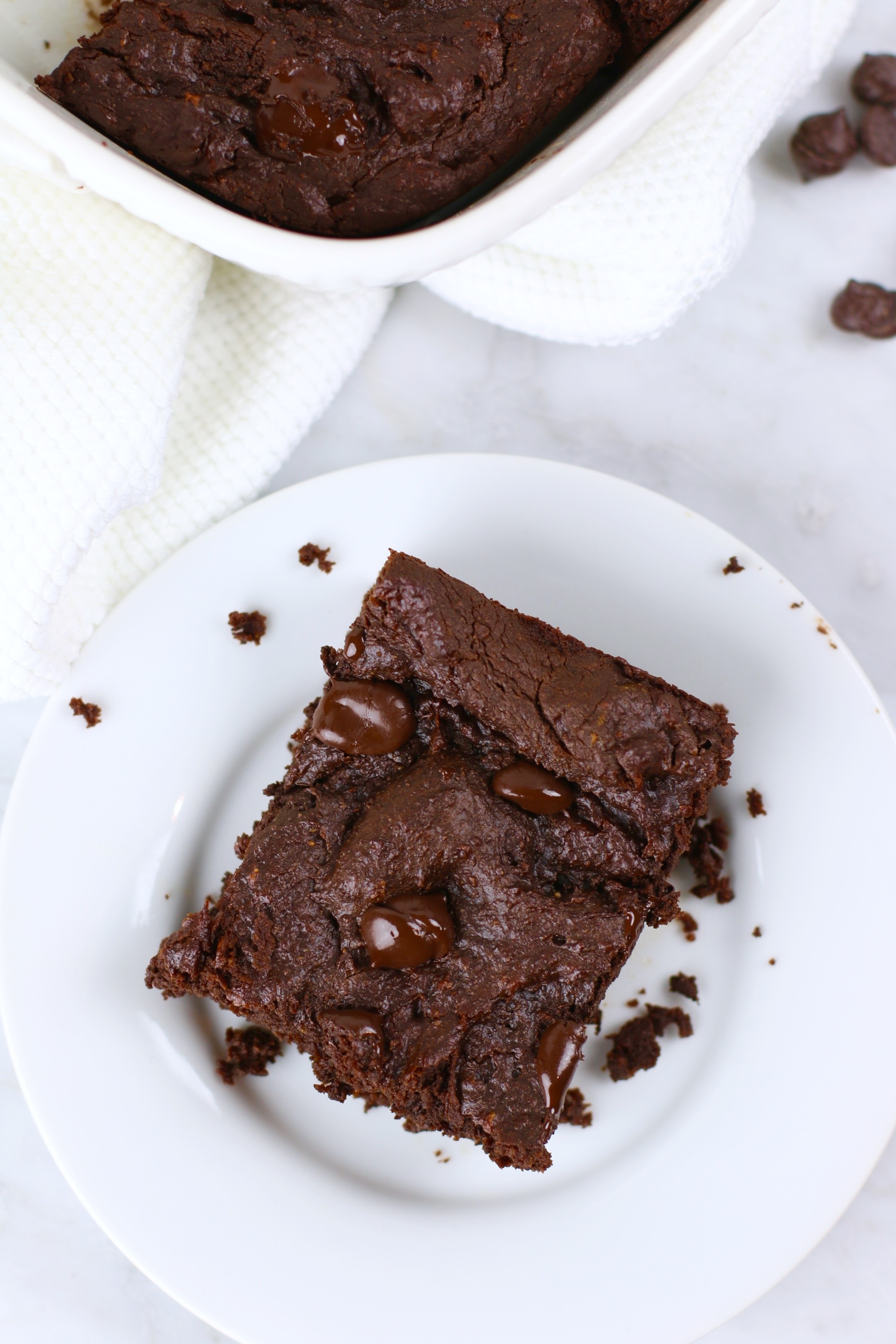 Sweet Potato Brownies - vegan, gluten-free