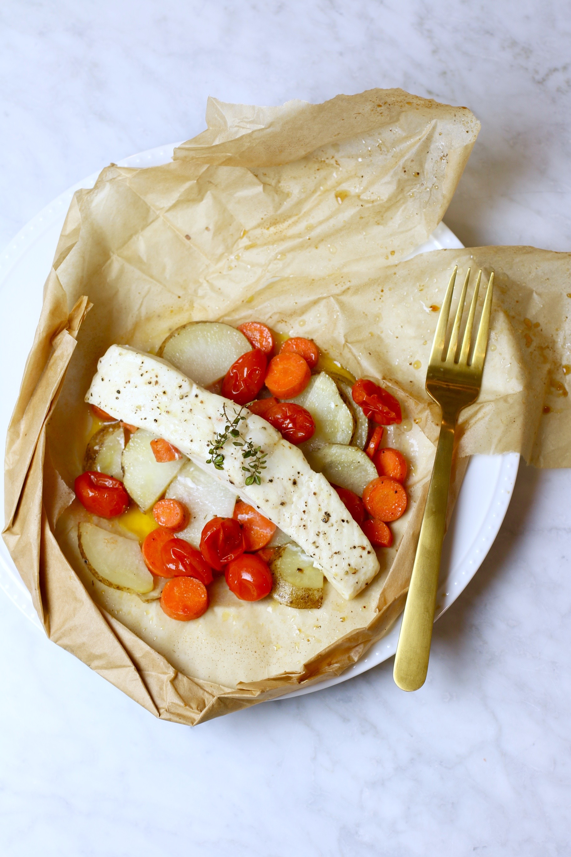 Easy Fish En Papillote