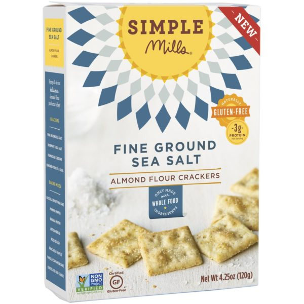 simple mills sea salt crackers