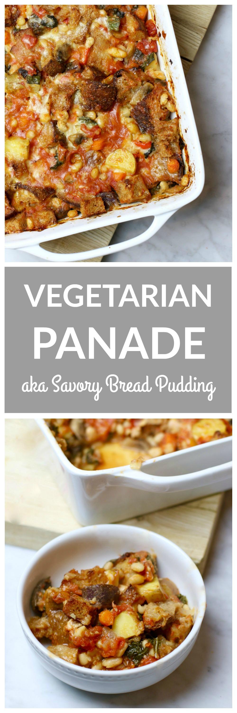 Vegetarian Panade - aka Savory Bread Pudding