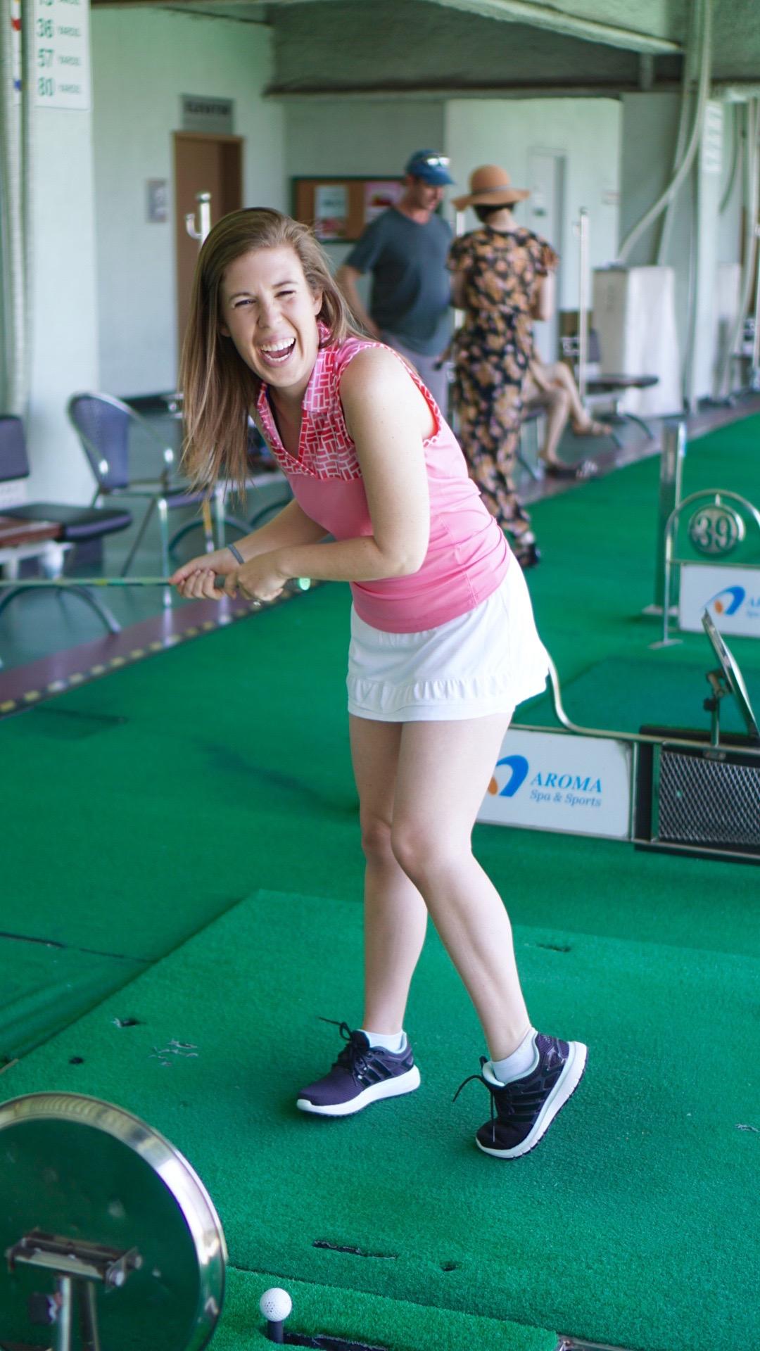 Womens Golf Style