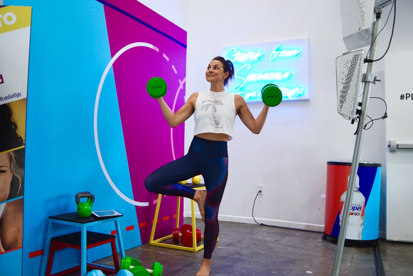 playlist yoga propel co:labs event