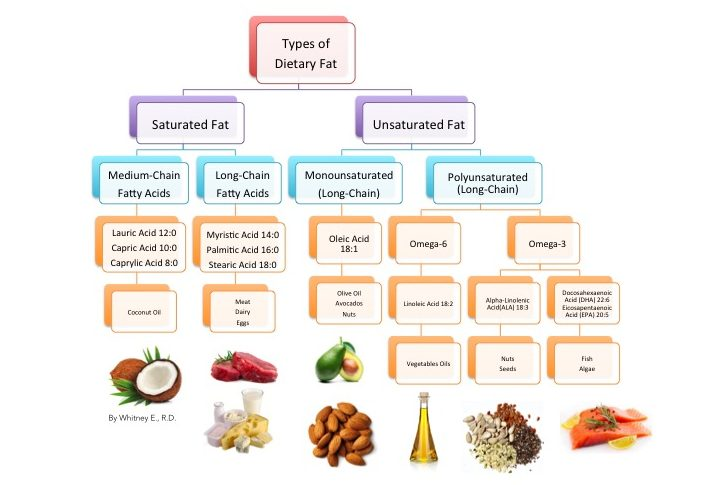 dietary-fatty-acids-in-food