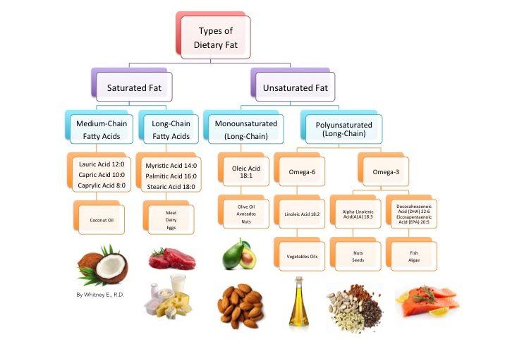 dietary-fatty-acids-in-food