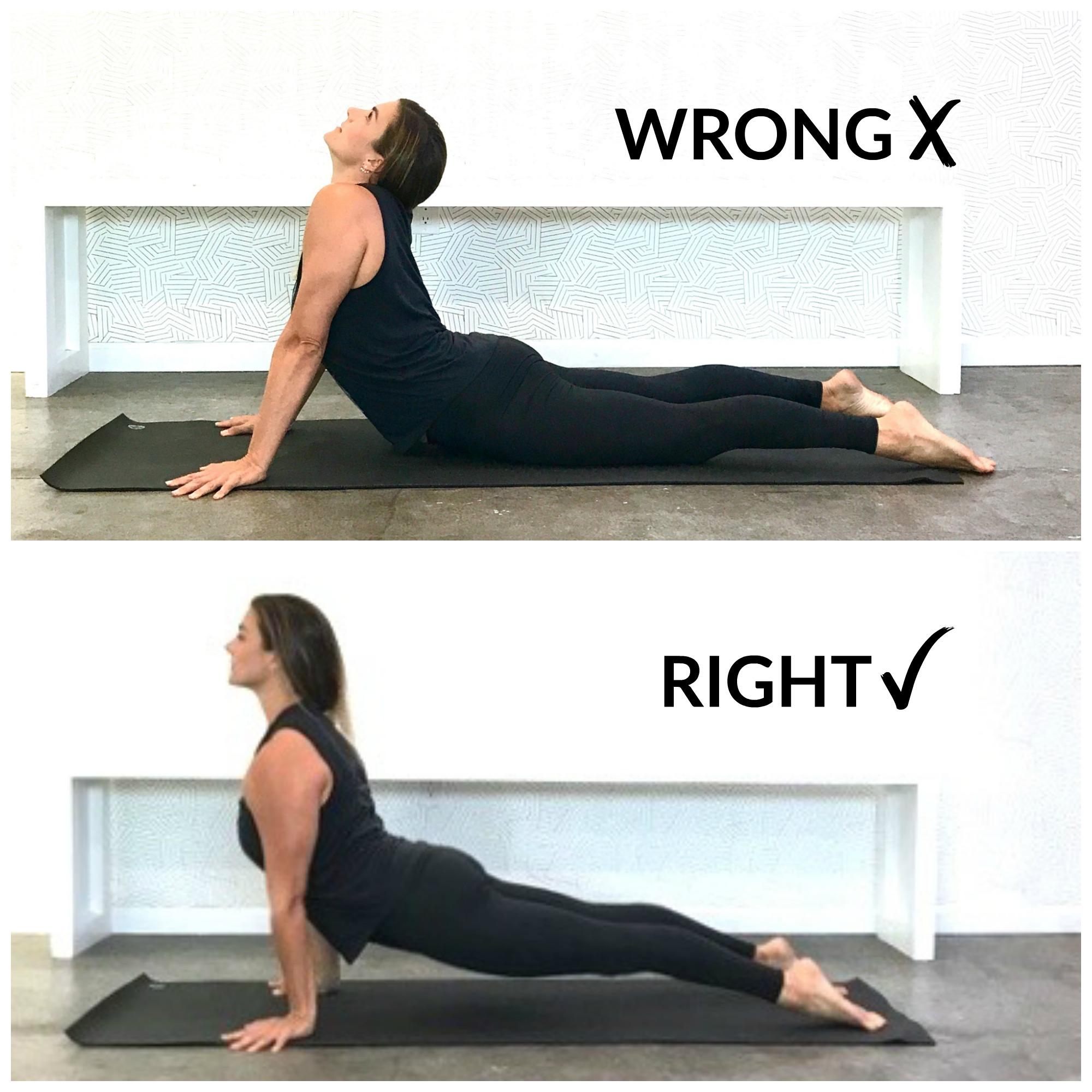 Upward Facing Dog Yoga Pose Proper Form