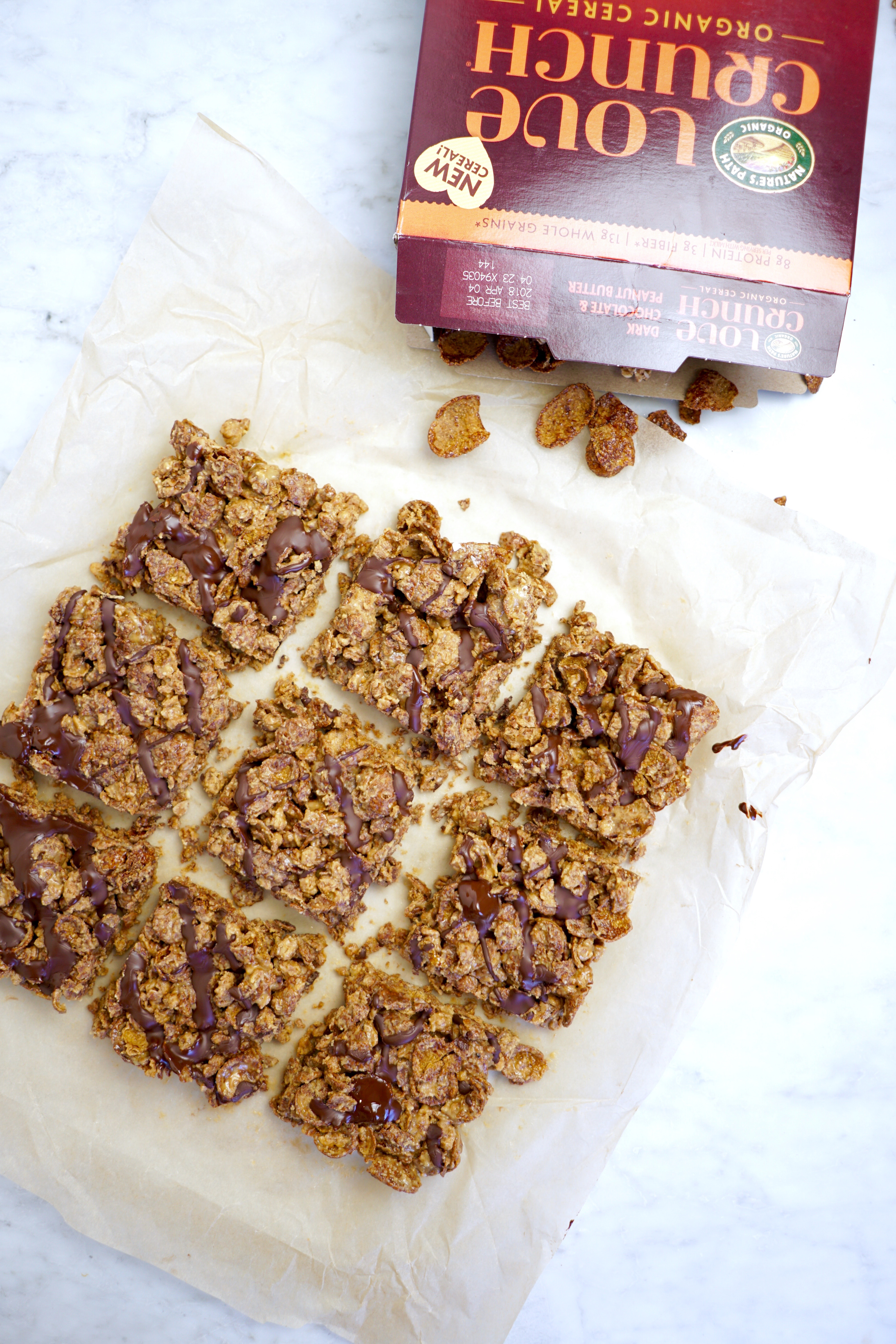 3 ingredient cereal bars