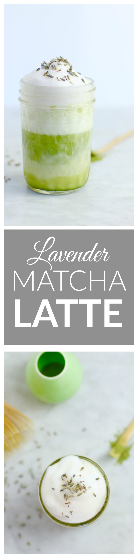 Lavender Matcha Latte