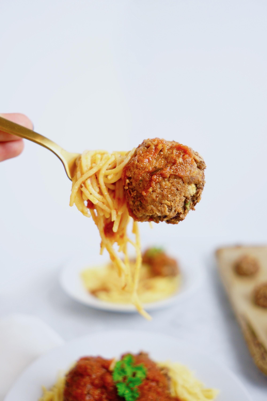 Gluten-Free Vegan Meatballs