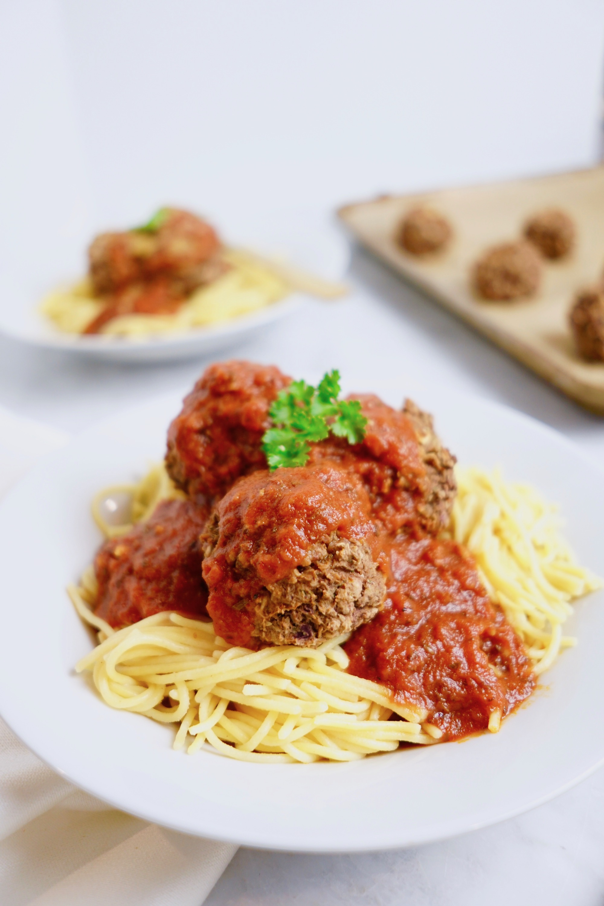Vegan Spaghetti and Meatballs Recipe