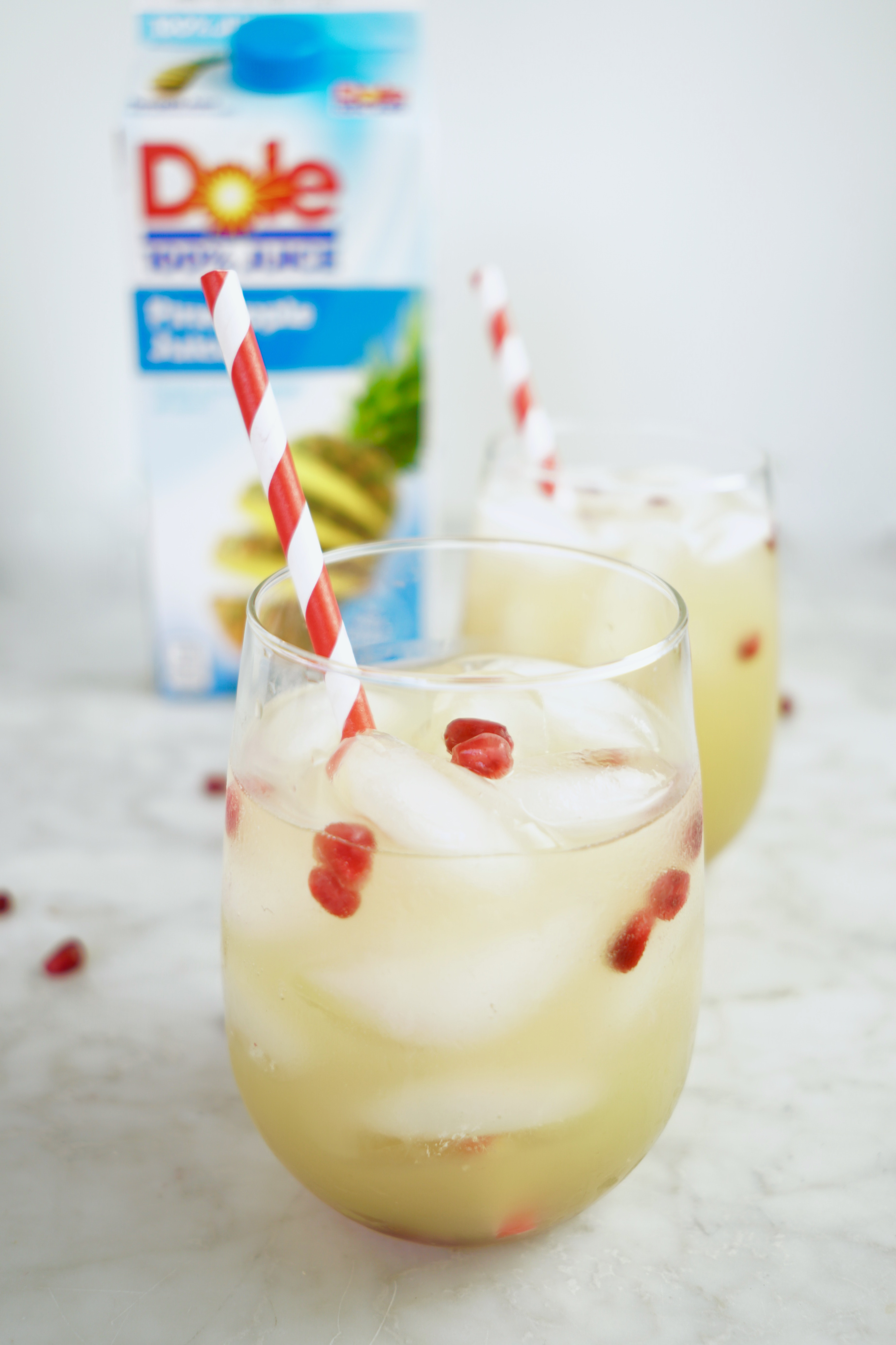 Pineapple Pomegranate Spritzer