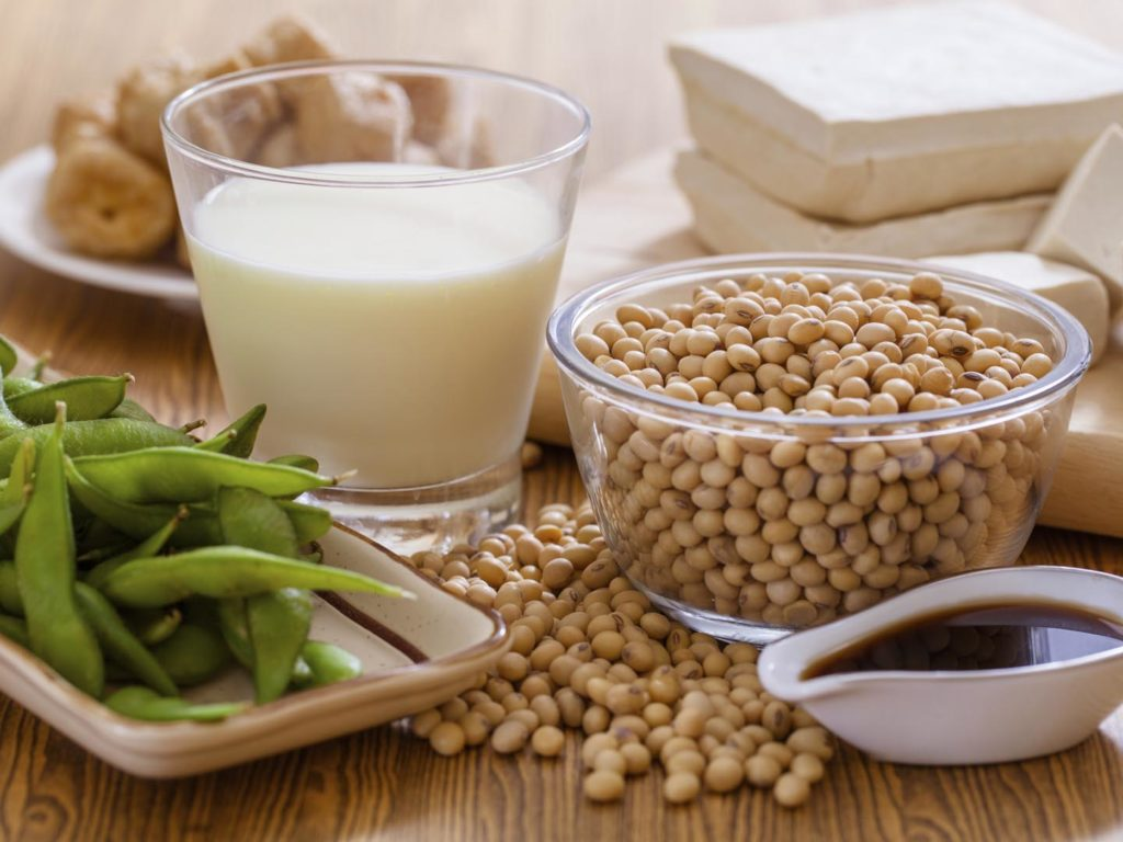 types of soy products