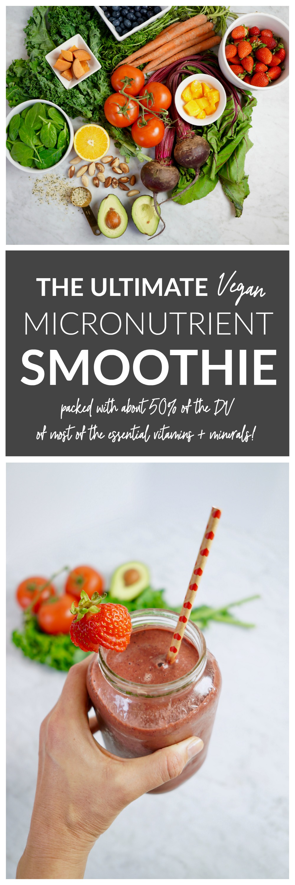 The Ultimate Vegan Micronutrient Smoothie