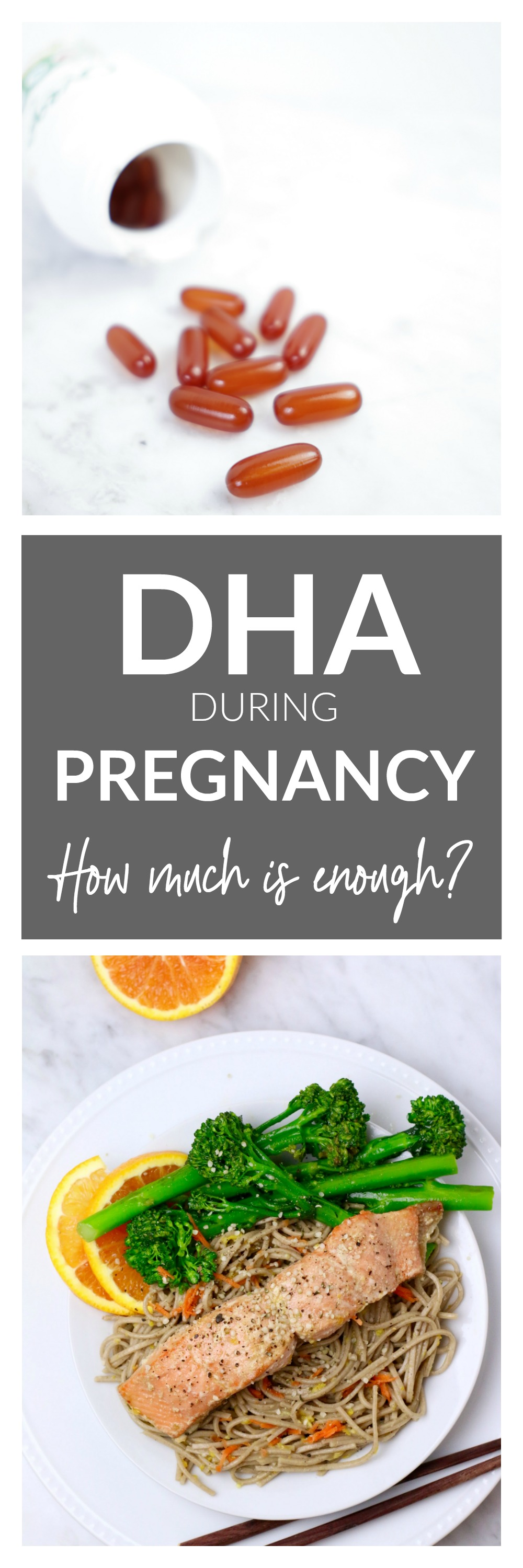DHA During Pregnancy - How Much is Enough