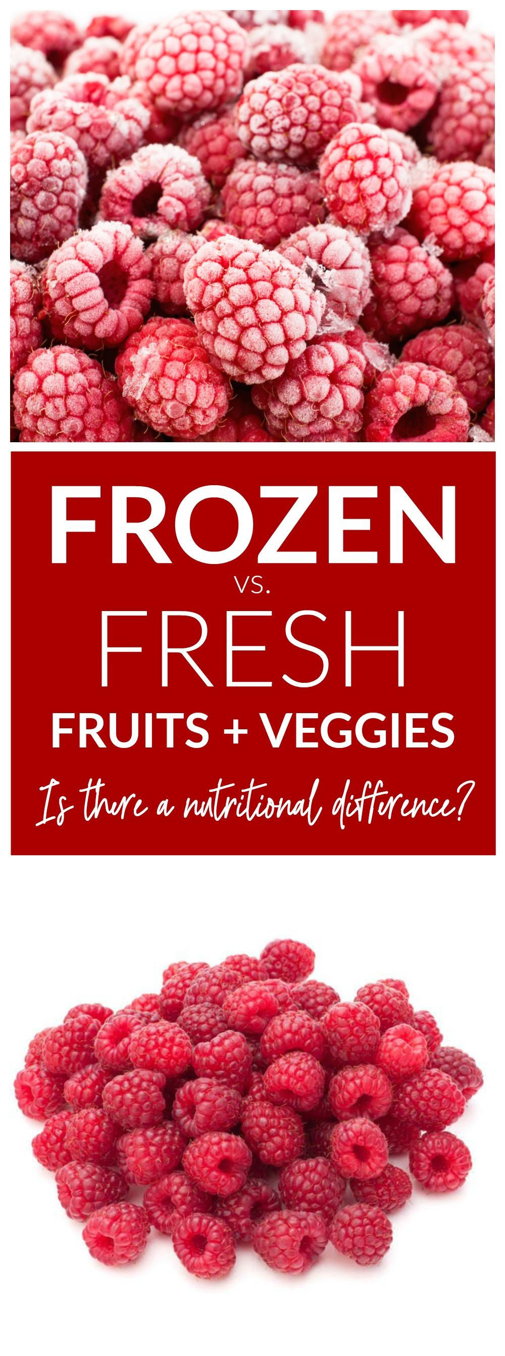 Frozen v. Fresh Fruit and Vegetables - Is There A Nutritional Difference