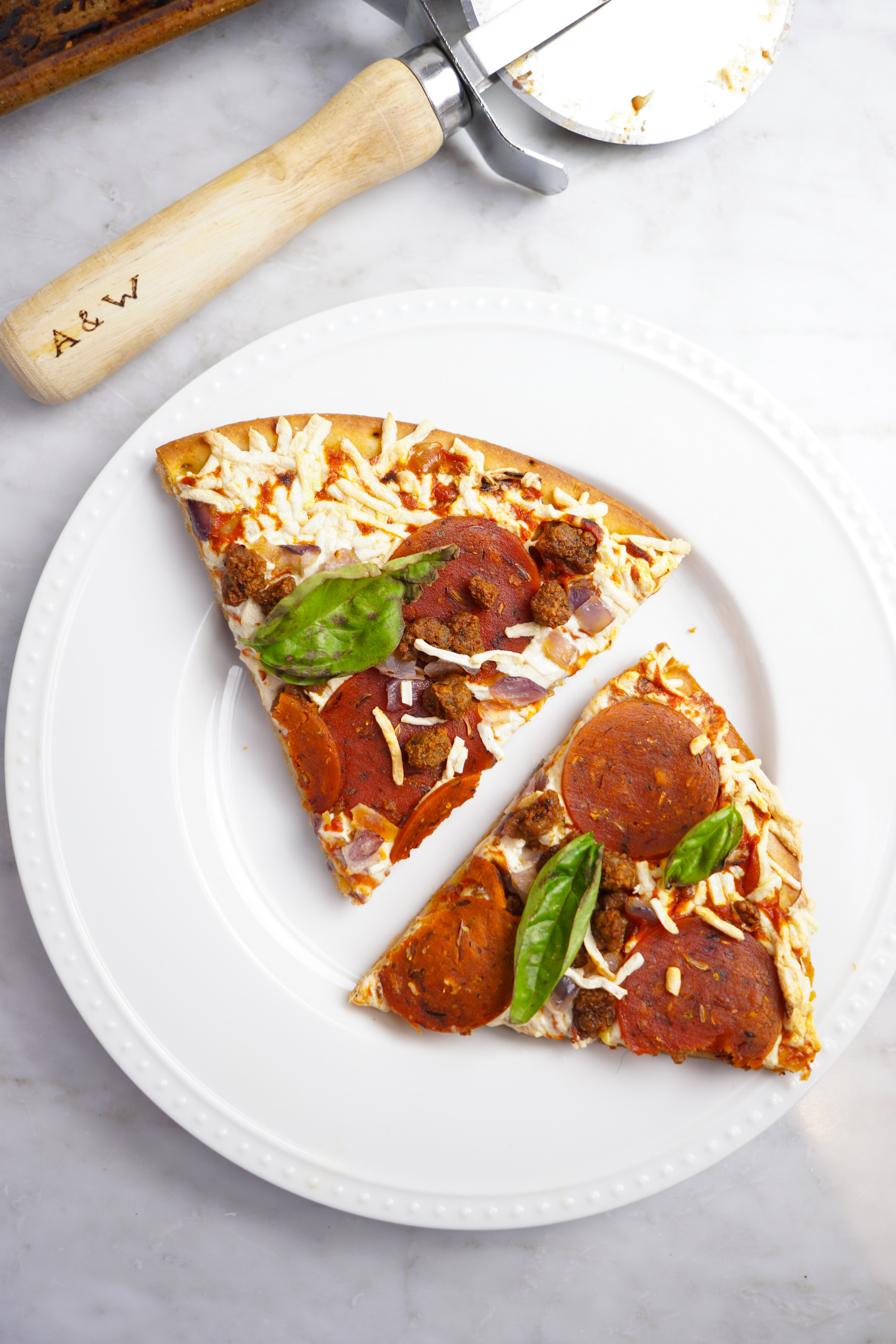 Plant-Based Meatlovers Pizza