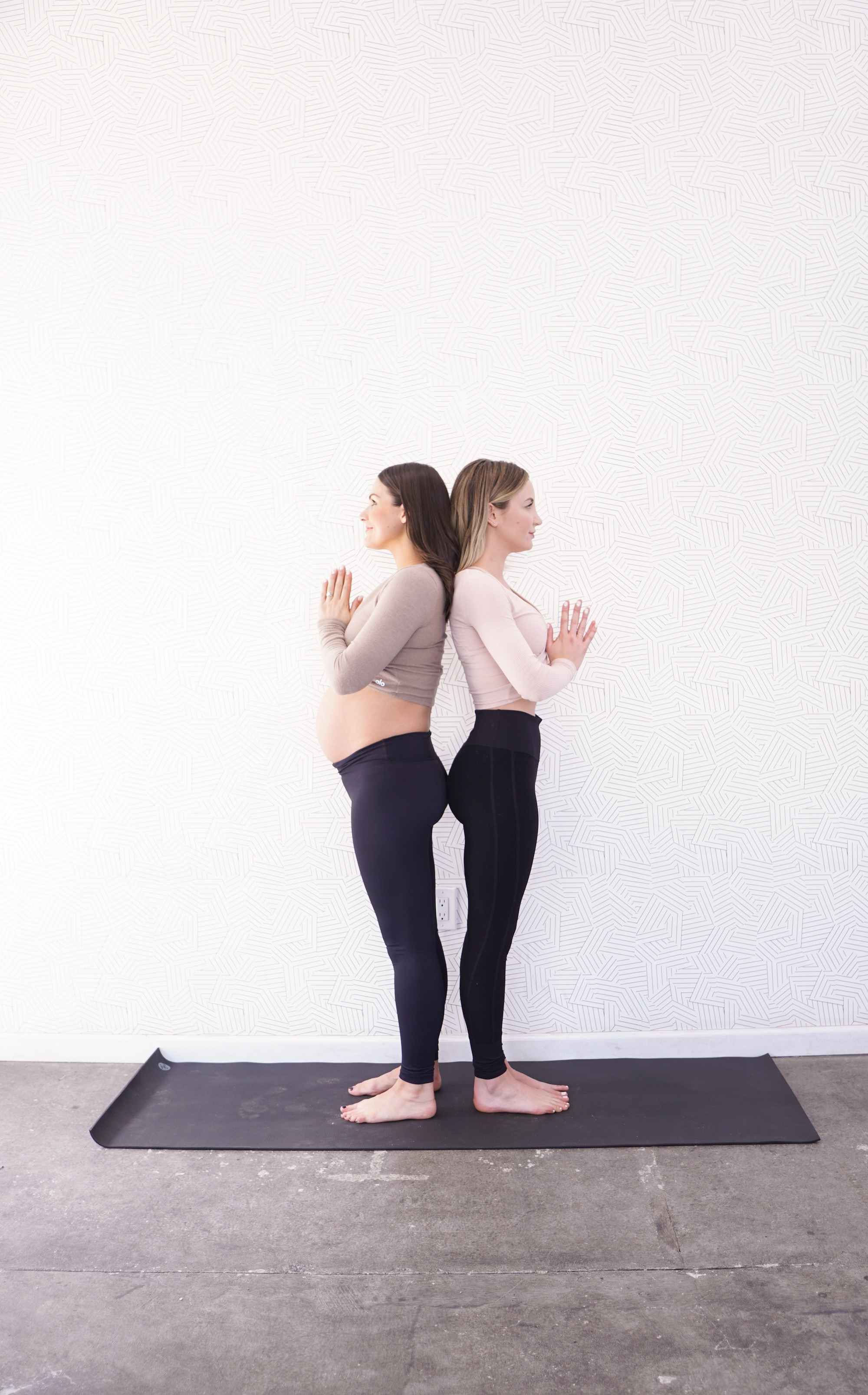 Yoga Poses to Avoid During Pregnancy with Modifications // Whitney