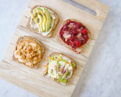 Vegan Toast Recipes - 4 Ways