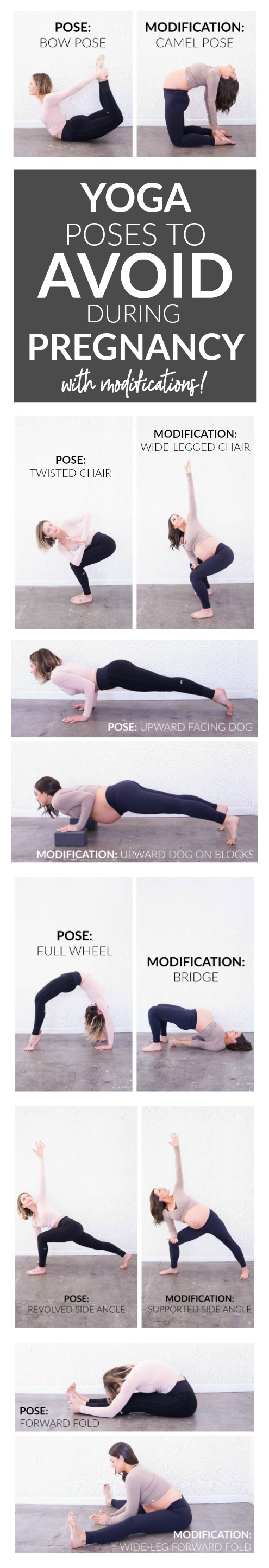 Yoga Poses To Avoid During Pregnancy With Modifications Whitney E Rd