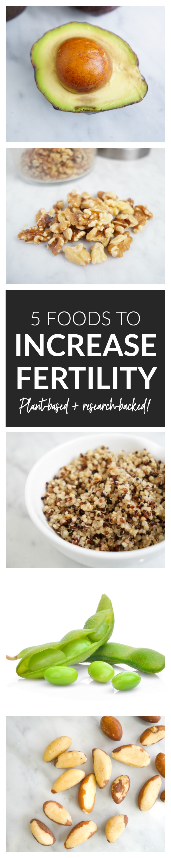 5 Foods to Increase Fertility