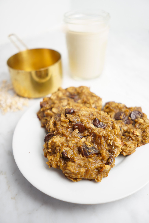 vegan gluten-free 3 ingredient cookies