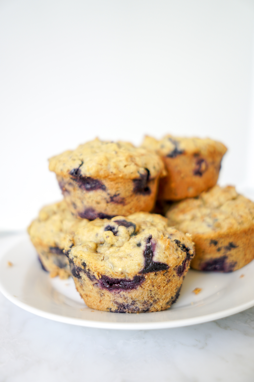 Vegan Blueberry Muffins Brunch Recipe