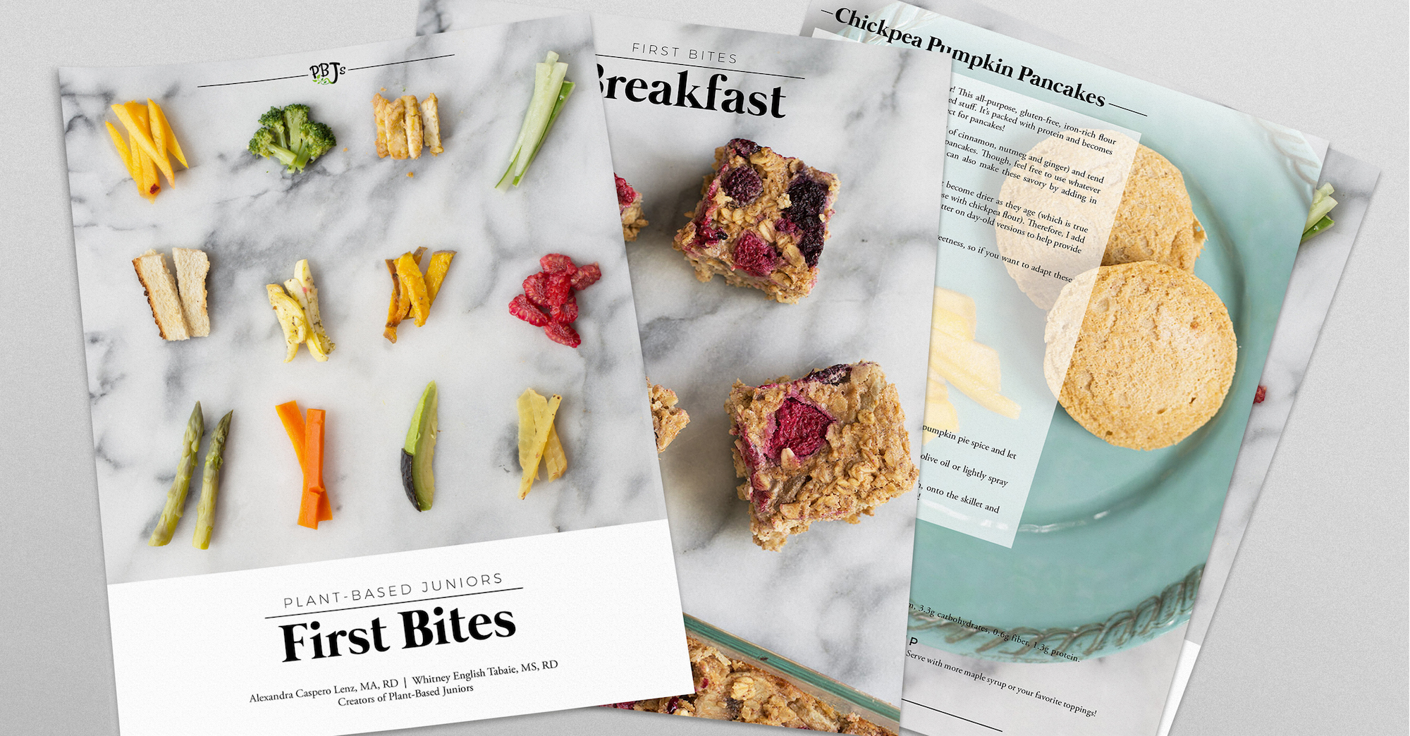 plant-based juniors first bites contents