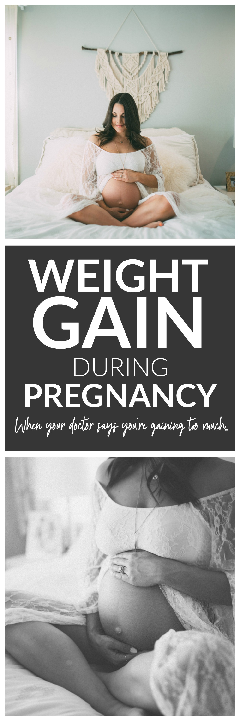 Weight Gain During Pregnancy - what to do when your doctor says you're gaining too much.