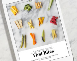 plant based juniors first bites cover